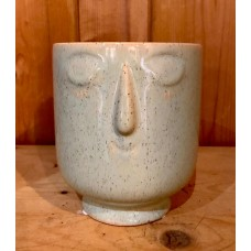 Ceramic Face Pot (Large)